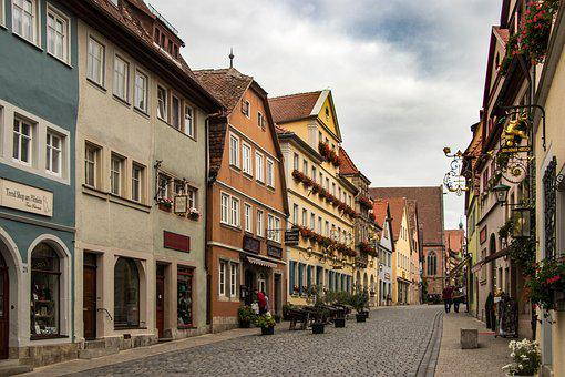 Rothenburg, Fachwerkhaus, Historically, City, Truss