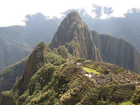 Machu Picchu, Peru, World Heritage, Landscape