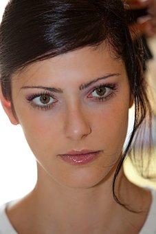 Green Eyes, Eyes, Beauty, Look, Charm, People, Bride