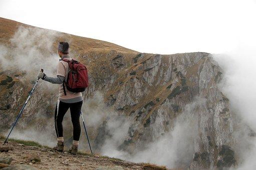 Mountains, Hiking, Nordic Walking, Adventure, Travel