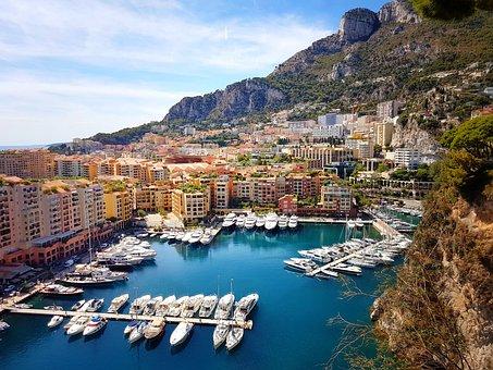 Mediterranean Sea, Ocean, Port, Yacht, Monaco Port