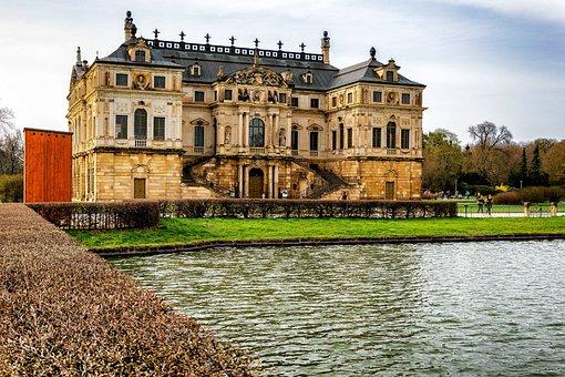 Large Garden, Dresden, Park, Places Of Interest