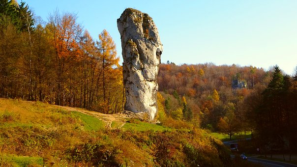 Paternity National Park, Autumn, Rock Club Hercules