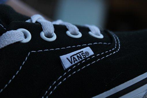 Vans, Slippers, Skater, Boys, Skateboard, Urban, Street