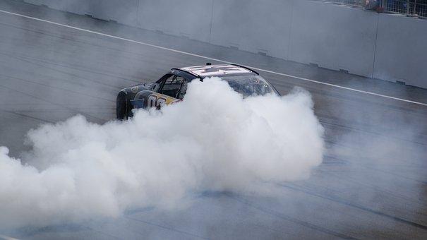 Burnout, Car, Rally, Speed, Automobile, Smoke, Power