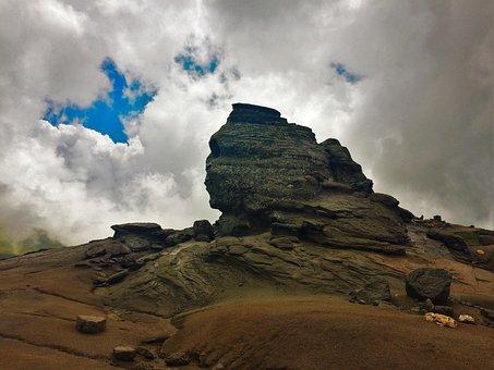 Romania, Bucegi, Carpathian, Mountains, Sphinx