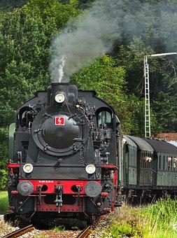 Steam Locomotive, Tank Locomotive, Museum Railway