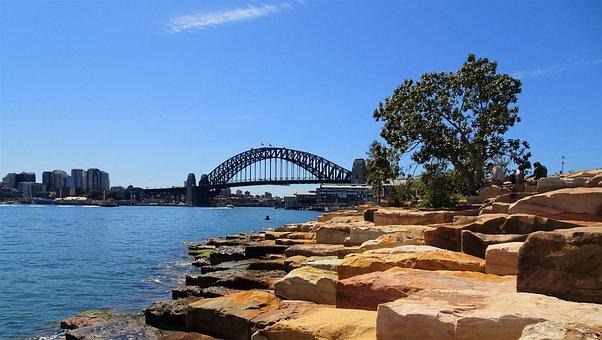 Sydney, Nsw, Australia, Bangaroo, Travel, Vacation