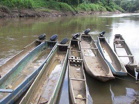 Canoes, Boats, Water, Lake, River, Travel, Adventure