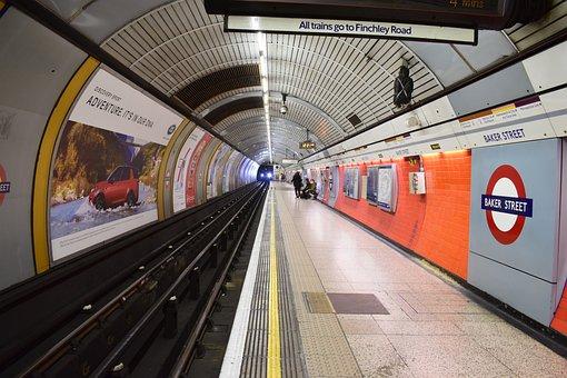 London, Underground, City, Subway, Transport, Tube