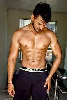 Traps, Six Pack, Shoulder, Chest, Body, Aesthetics