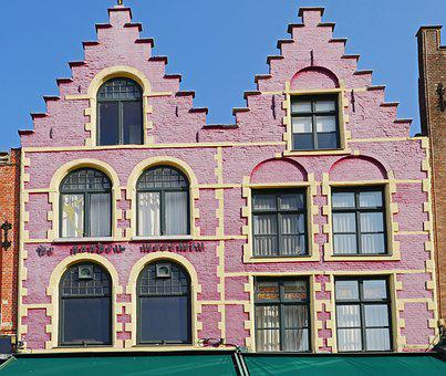 Bruges, Gable House, Double Gable, Old Market