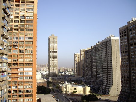 Cairo, Skyscraper, View