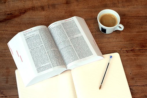 Coffee, Right, Book, Learn, To Study, Work, Legal