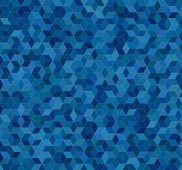 Cube Background, Background, Pattern, Mosaic, Cube