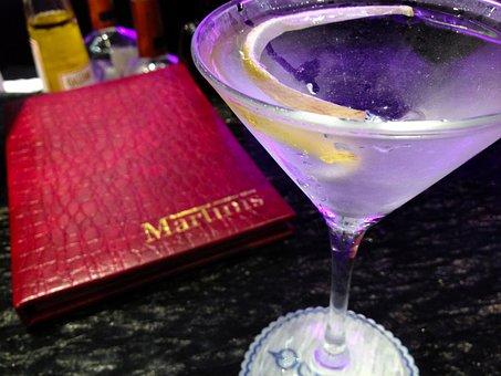 Martini, Cocktail, Drink, Alcohol, Bar, Beverage, Glass