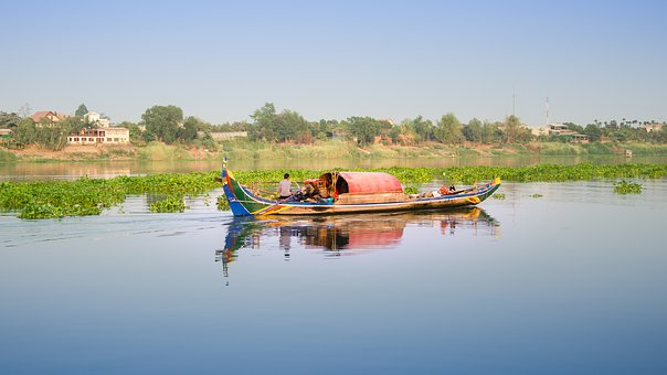 River, Fisher, Fishing, Water, Fisherman, Fish, Nature