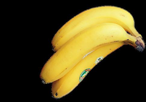 Banana, Fruit, Food, Yellow, Vitamins, Healthy, Fruity