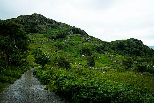 Landscape, Ireland, Nature, Green, County Kerry, Hill