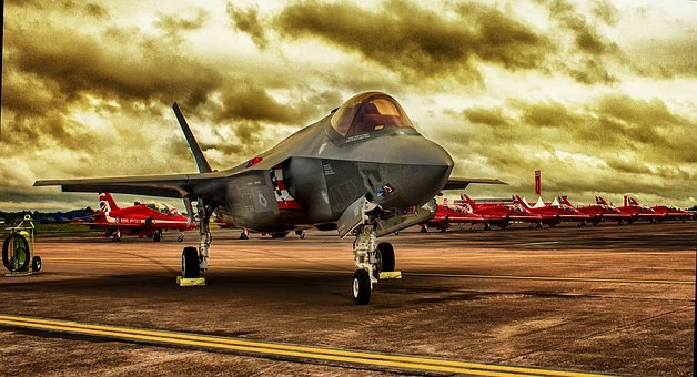 Hdr, Fighter Jet, Aircraft, Fighter, Air, Military