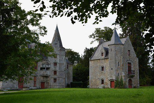 Castle, Beautiful House, Old House, Housing, Remains
