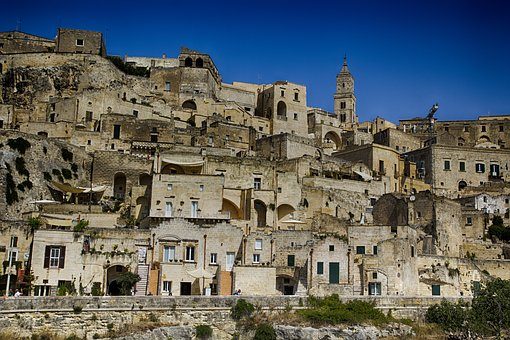 Matera, Italy, Unesco, Sassi, Historic Village