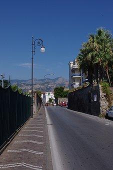 Road, Sorrento, Italy, Campania, Europe, Mediterranean
