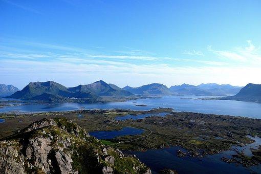 Lofoten, Norway, Scandinavia, Nature, Water, Holiday