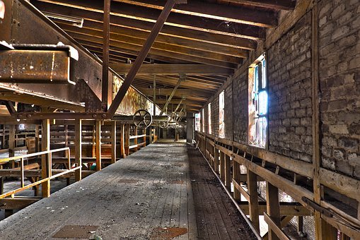 Lost Places, Warehouse, Stock, Leave, Pforphoto