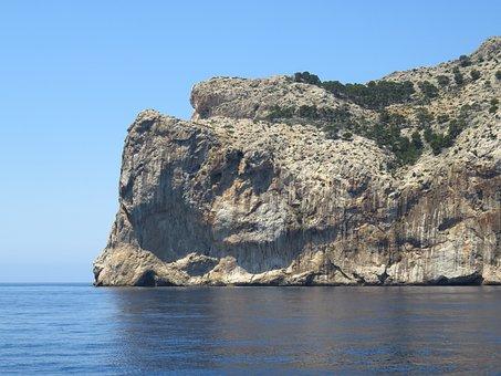Coast, Steilkueste, Rock, Mallorca, Rocky Coast, Sea