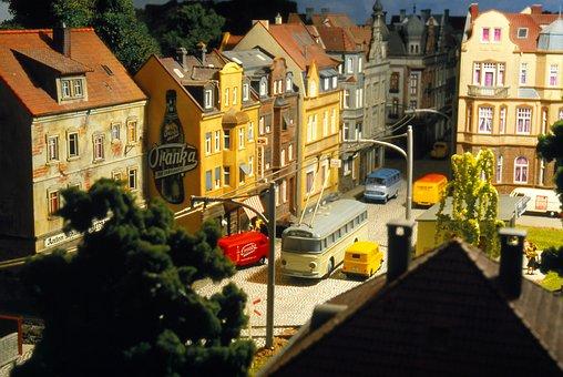 Model Train, Model Railway, Trolley Bus