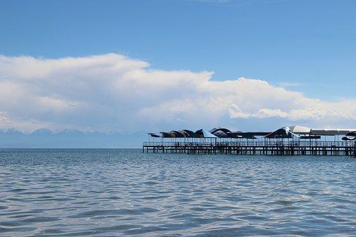 Issyk Kul, Pierce, Clouds