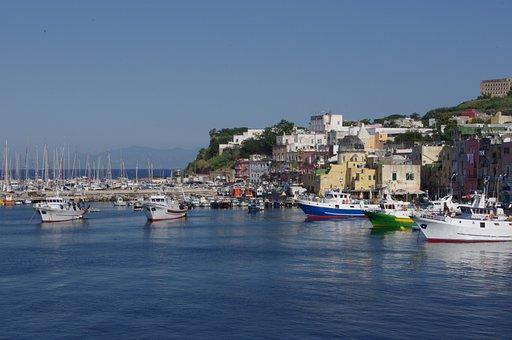 Italy, Procida, Island, Campania, Naples, Travel