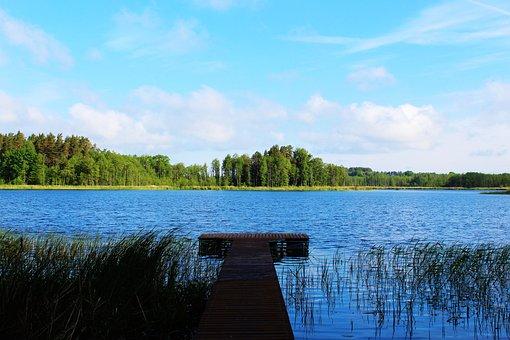 Lake, Secret, Mysterious, Hidden, Rest, Harmony, Nature