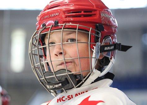 Hockey, Slavia, Skater, Hockey Player, Winter