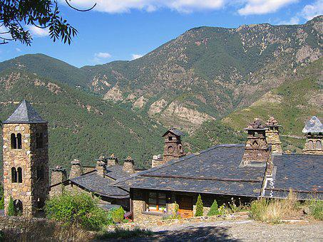 Fireplaces, Roofs, Slate Roofs, Andorra