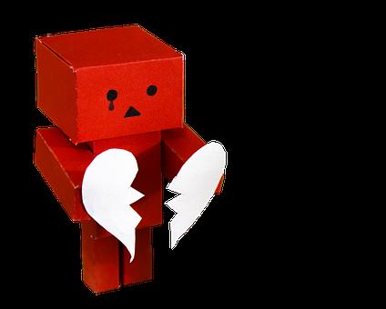 Danbo, Figure, Toys, Broken Heart, Heart Pain, Cry