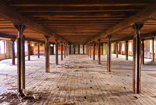 Lost Places, Warehouse, Stock, Leave, Pforphoto, Old