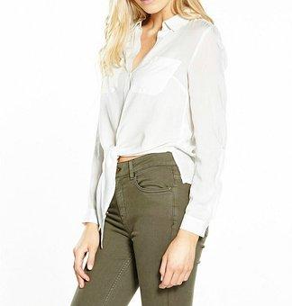 Fashion, Shirts, Clothing, White, Tshirt, Cotton
