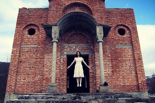 Ghost, Bride, Spooky, Woman, Girl, Halloween, Horror