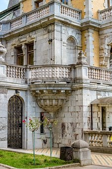Massandra, Crimea, Russia, Ukraine, Old, Yalta, Palace