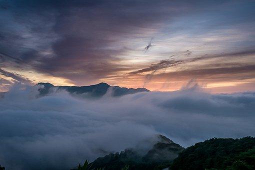 Japan, Kumamoto, Aso, Asahi, Sea Of Clouds, Cloud