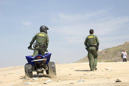 Border Patrol, Bike, Border, Patrol, Safety