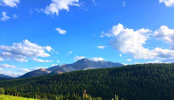 Mountains, Canada, Nature, Landscape, Travel, Scenic
