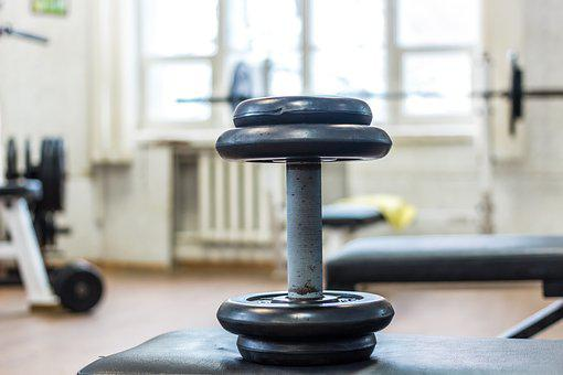 Dumbbell, Gym, Sports, Fitness, Training, Body-building