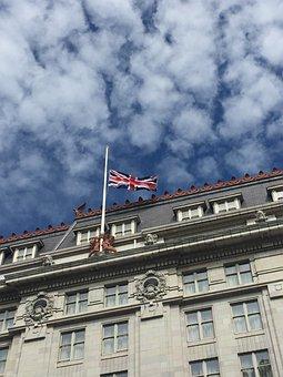 British, Flag, London, Uk, Britain, Union, United