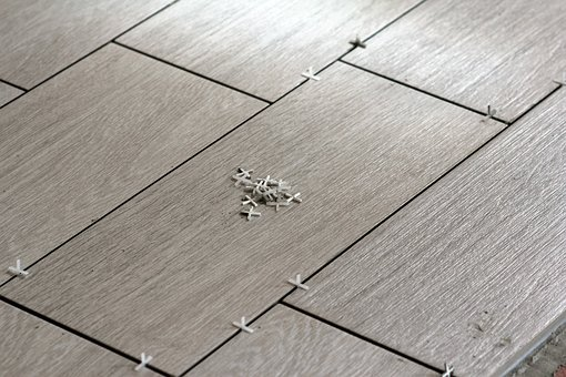 Construction, Repair, Laying Tile, Tic, Tile