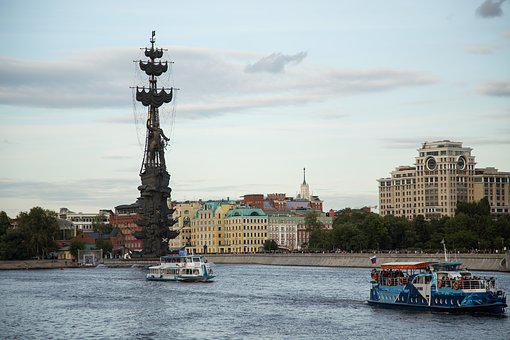 The Monument To Peter, Moscow, Monument, History