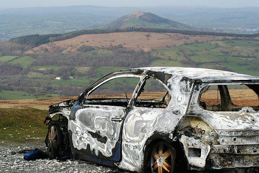 Burnt, Car, Relic, Ruin, Scrap