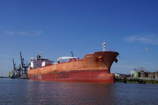 Freighter, Weser, Transport, Ship, Trade, Shipping